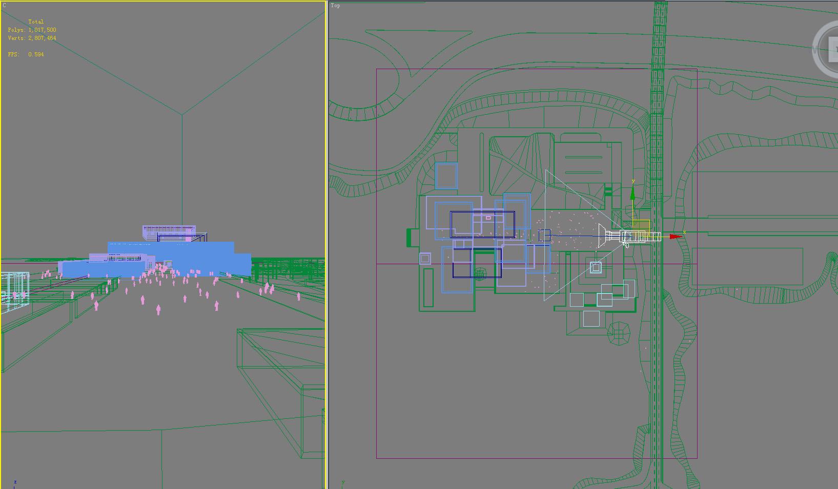 building 609 3d model max psd 126970