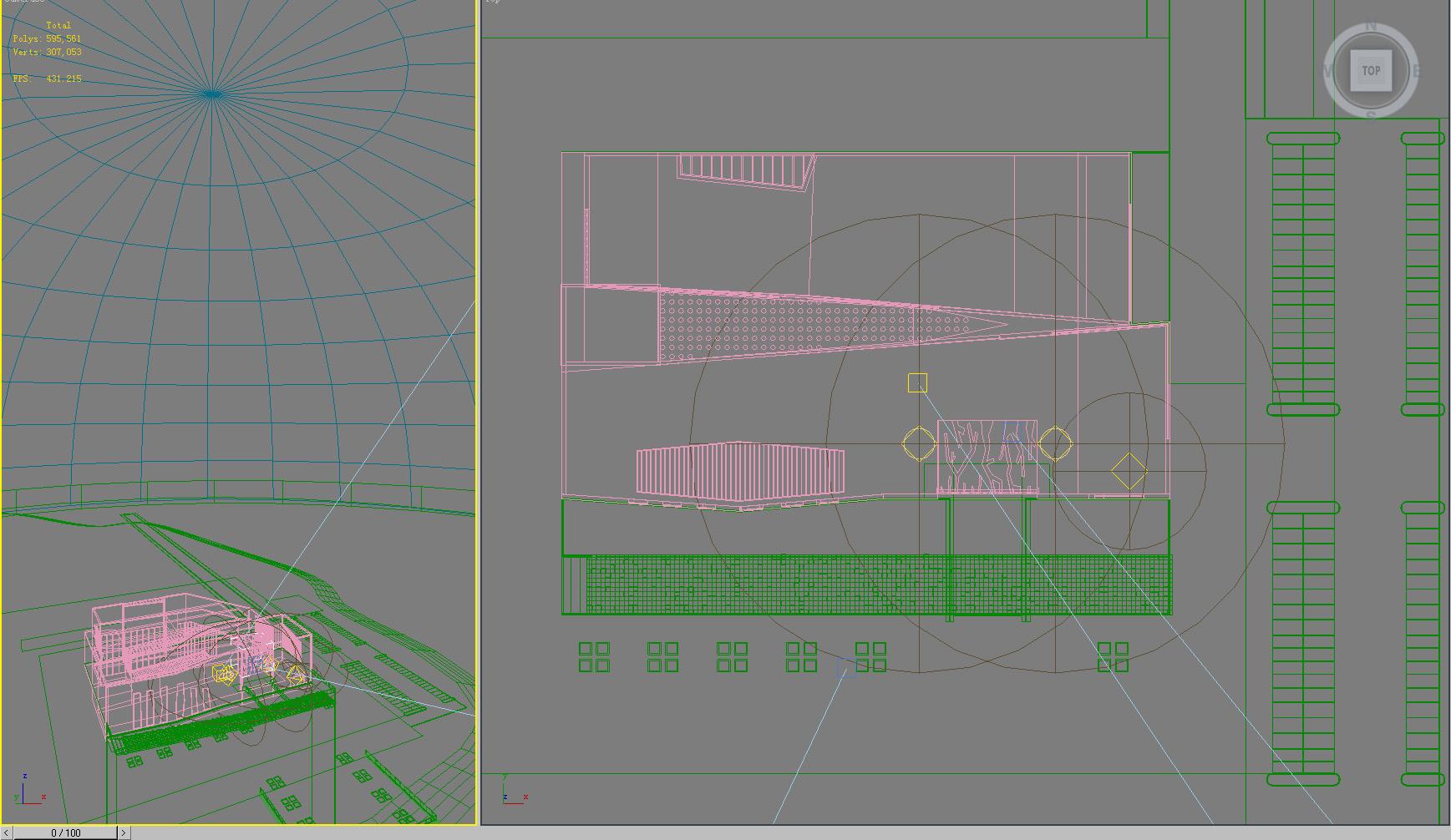 building 611 3d model max pct pict psd 126964