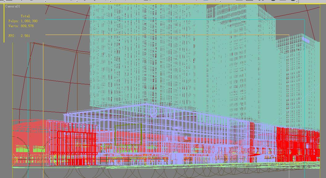 building 615 3d model max psd 126947