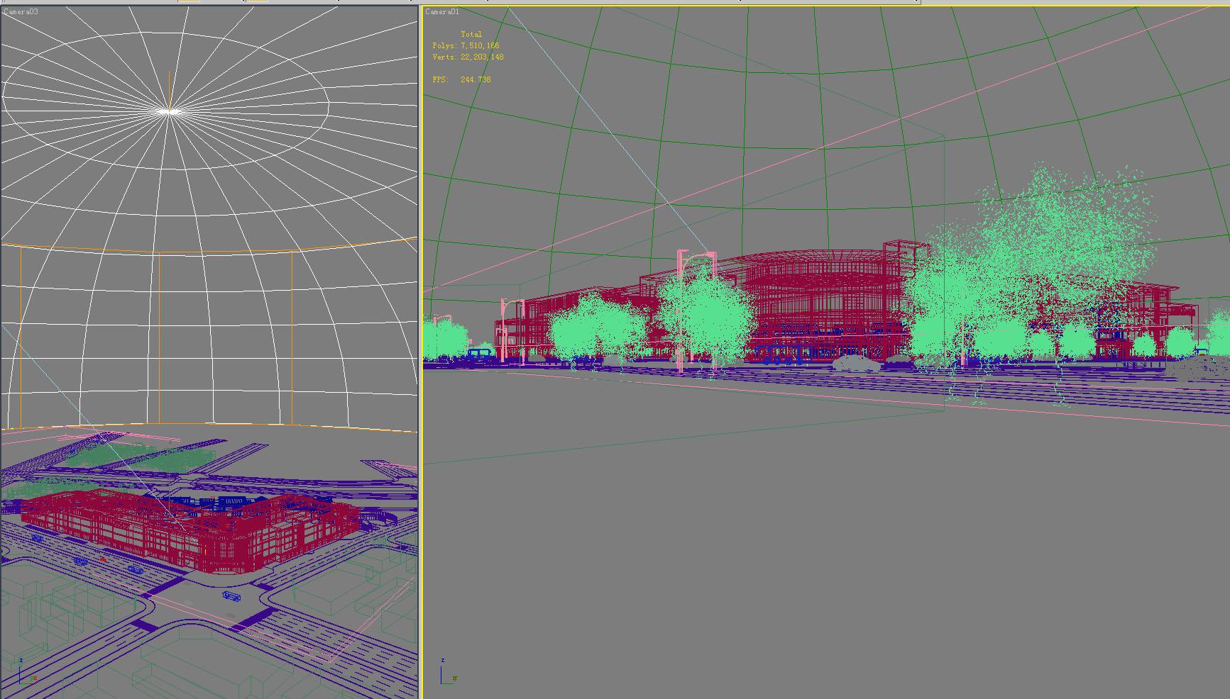 building 624 3d model max psd 126931