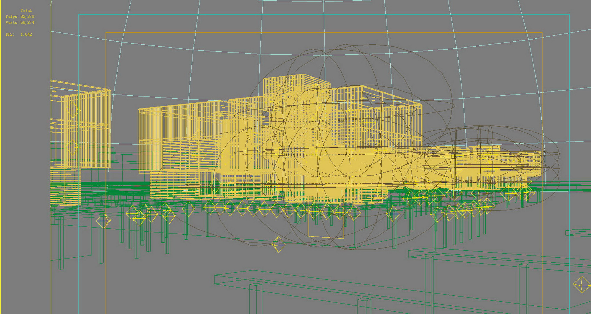 building 628 3d model max psd 126913