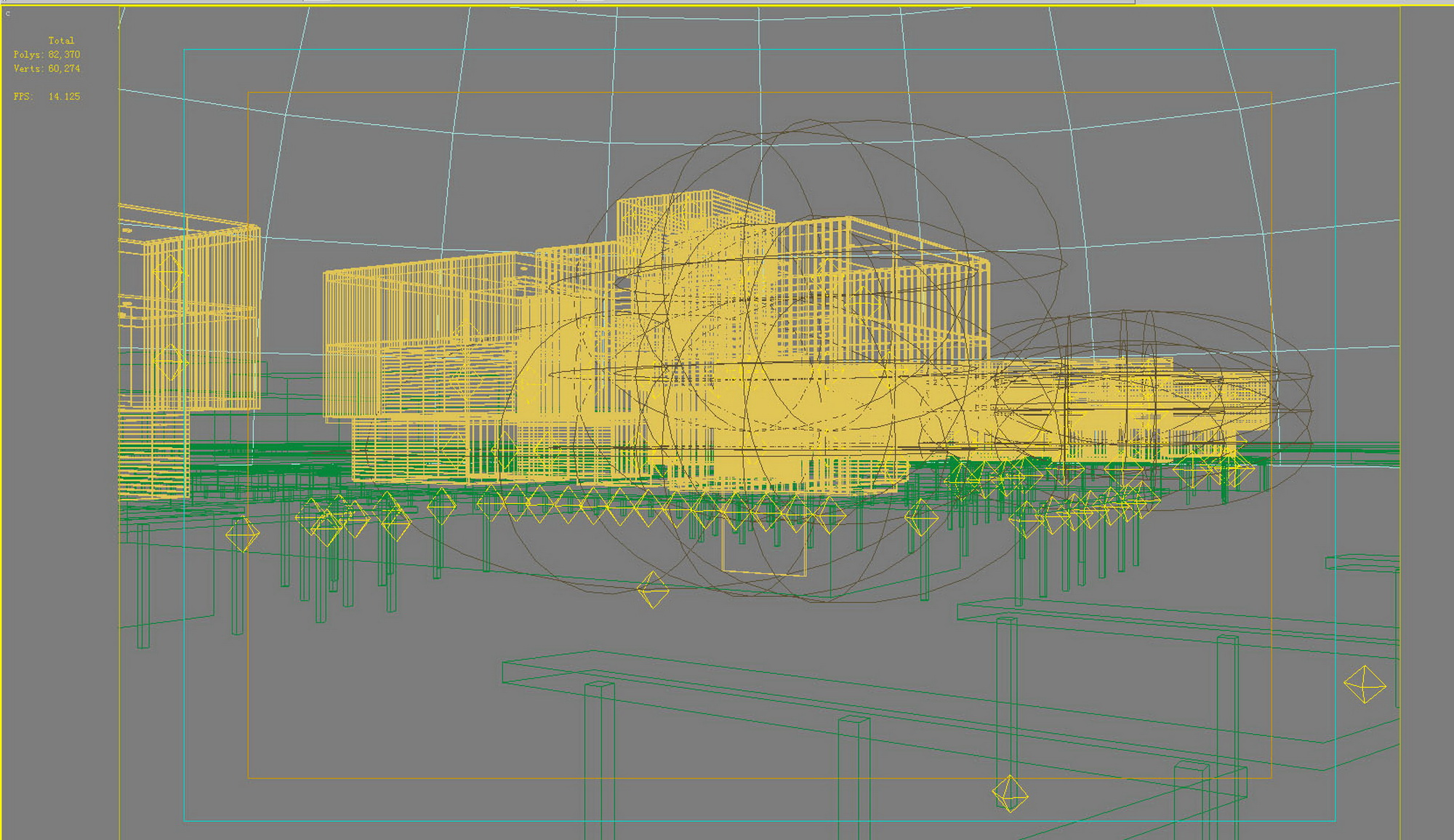 building 628 3d model max psd 126915