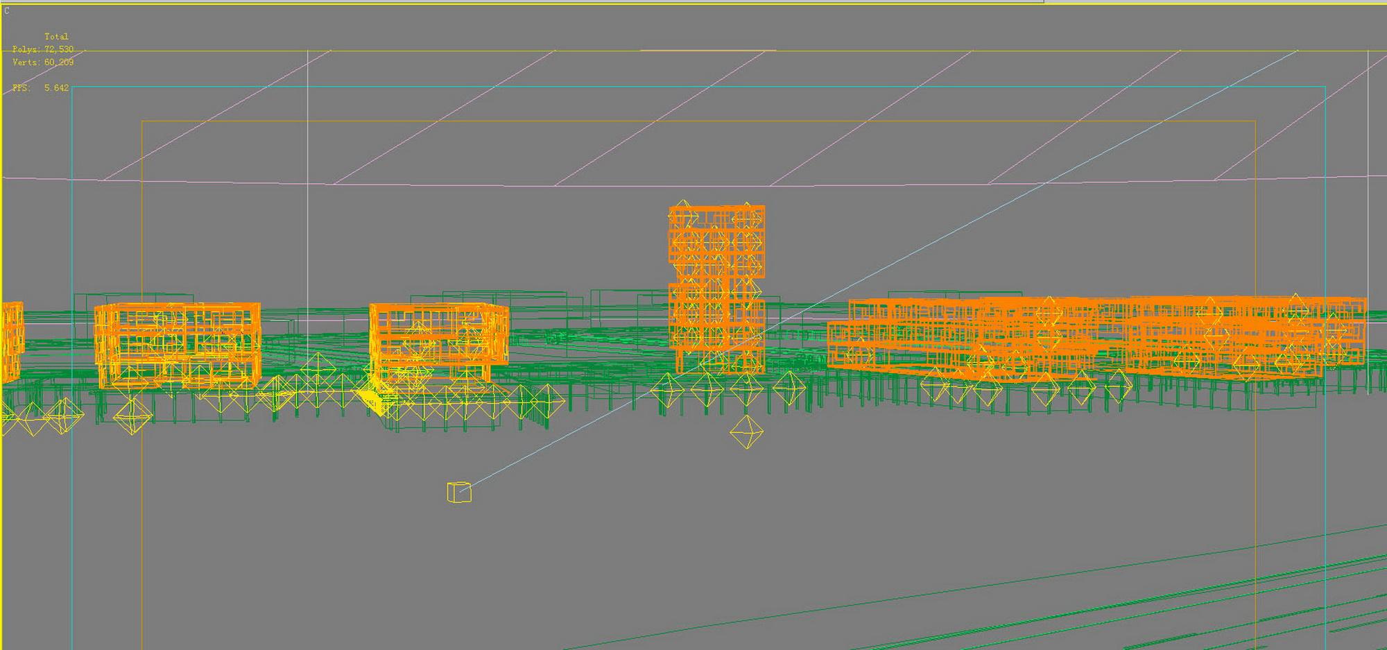 building 628 3d model max psd 126917
