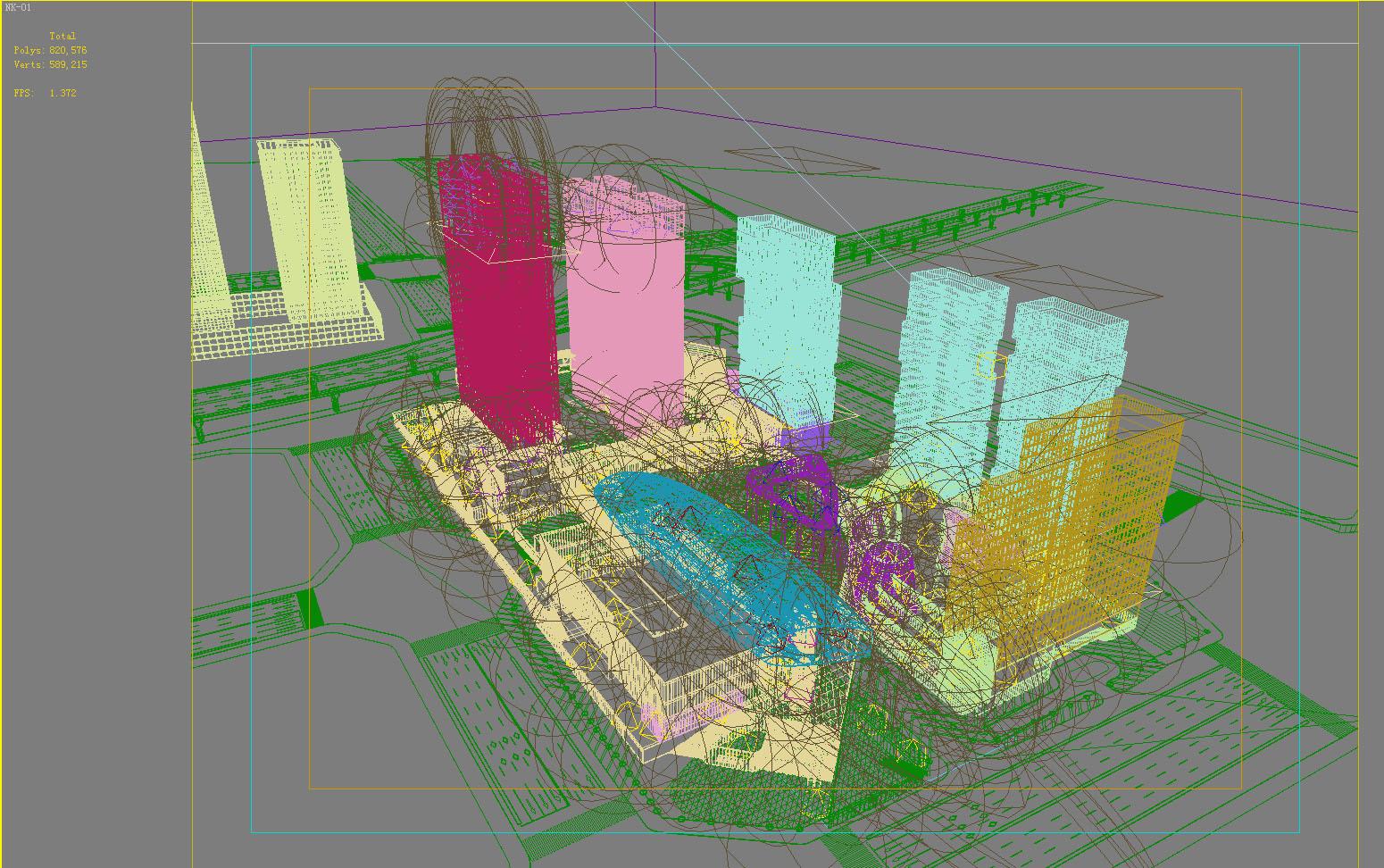 building 631 3d model max psd 126904