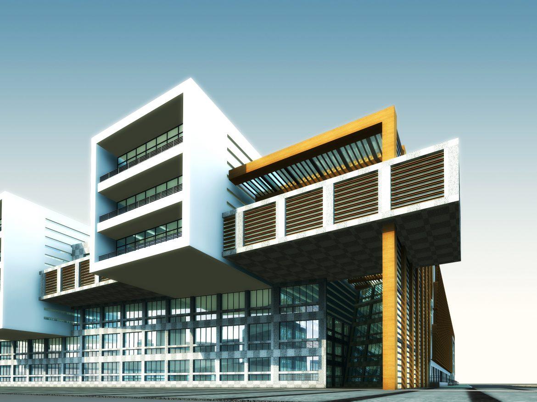 building 637 3d model max psd 126884