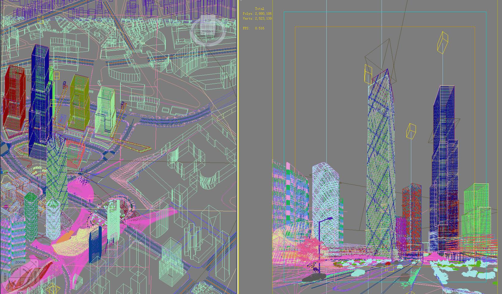 building 648 3d model max psd 126809
