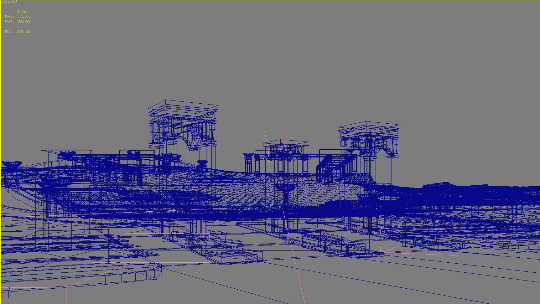 building 661 3d model max psd 126783