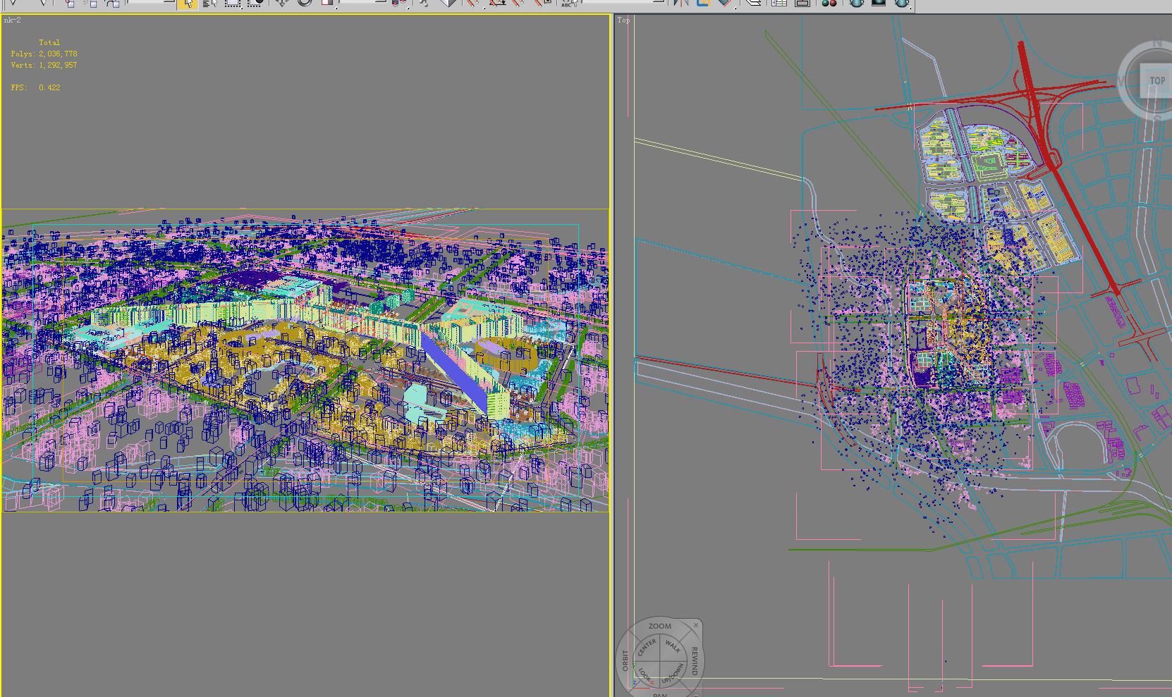 building 683 3d model max psd 126754