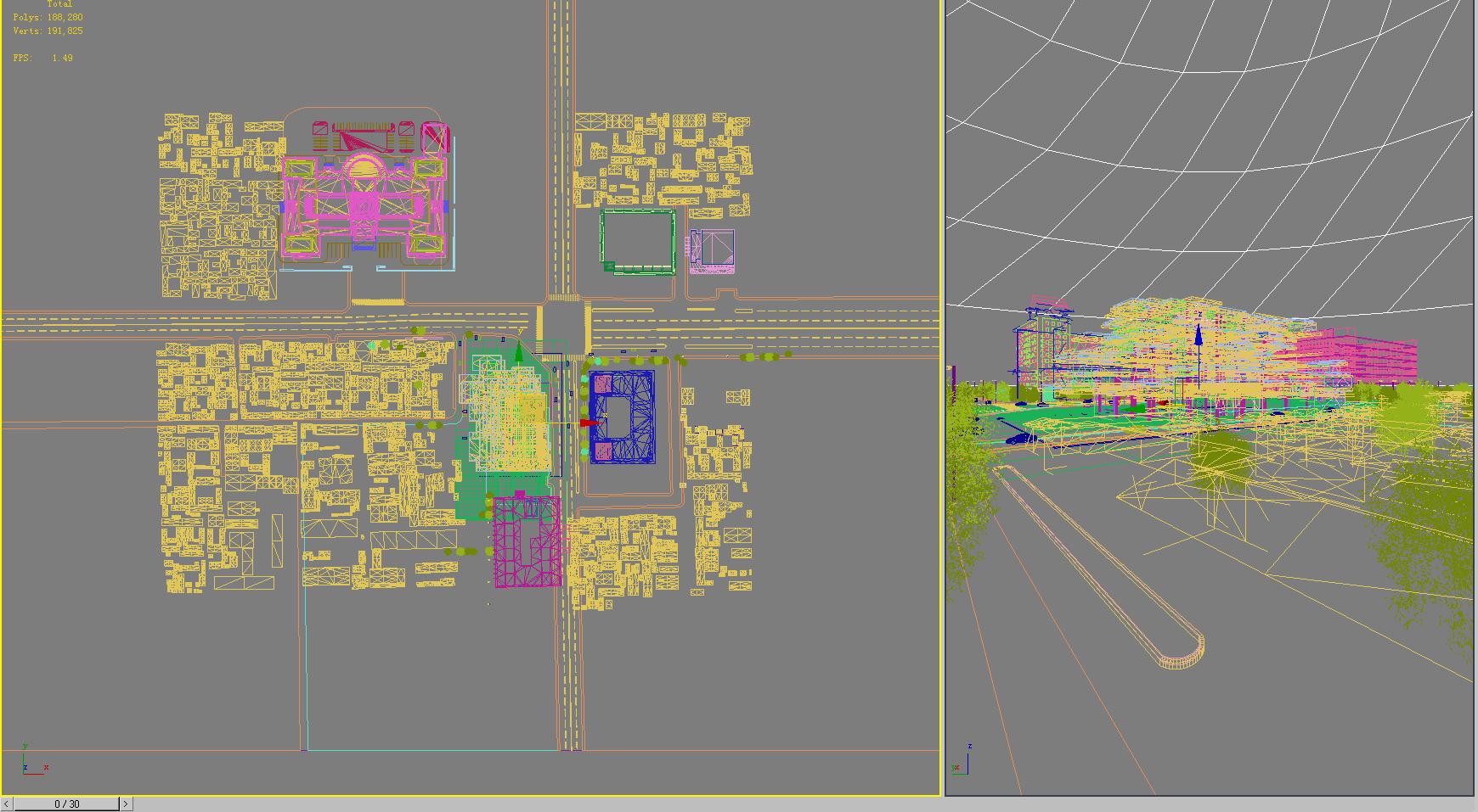 building 773 3d model max psd 126840