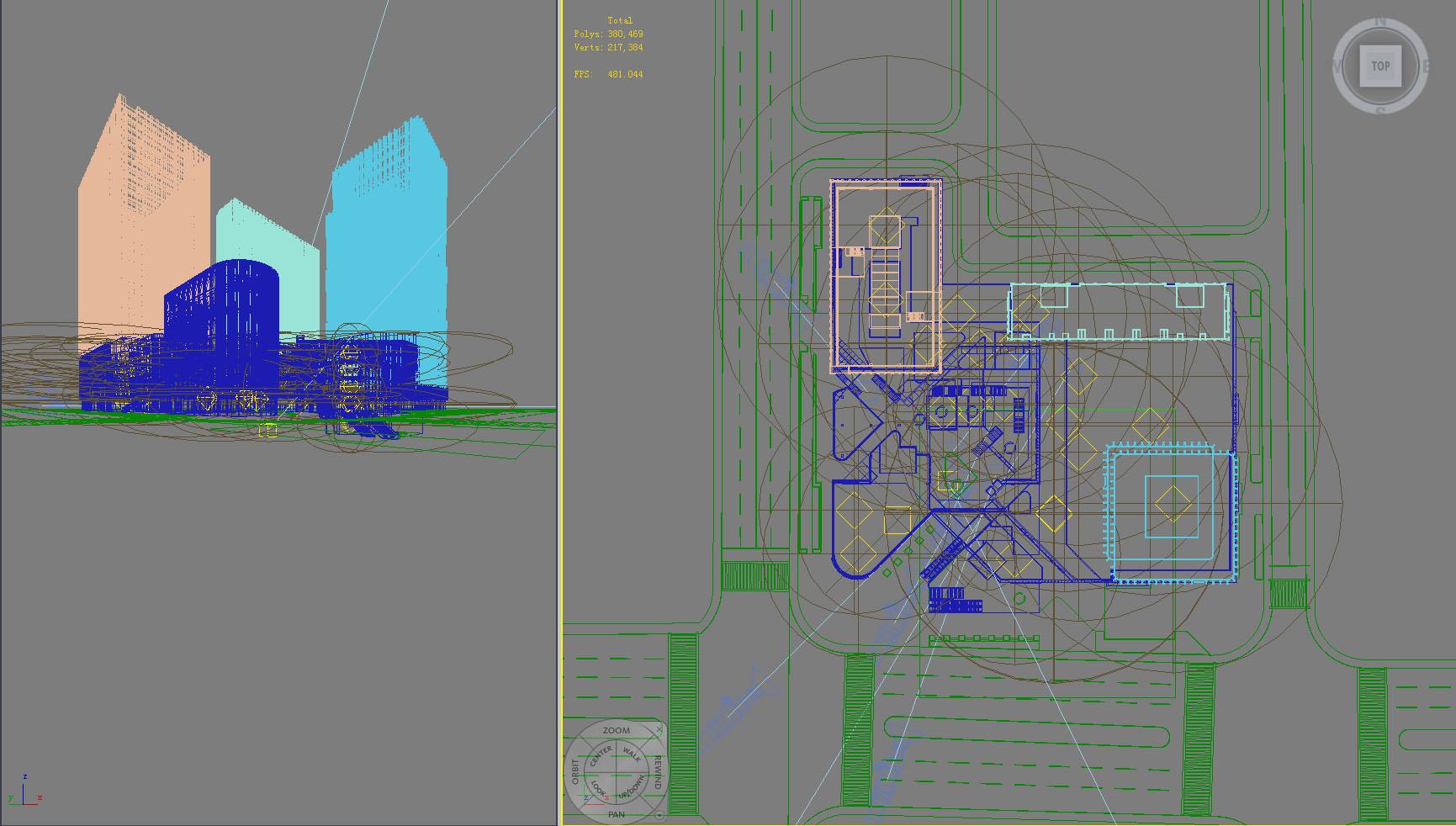 building 788 3d model max psd 126504