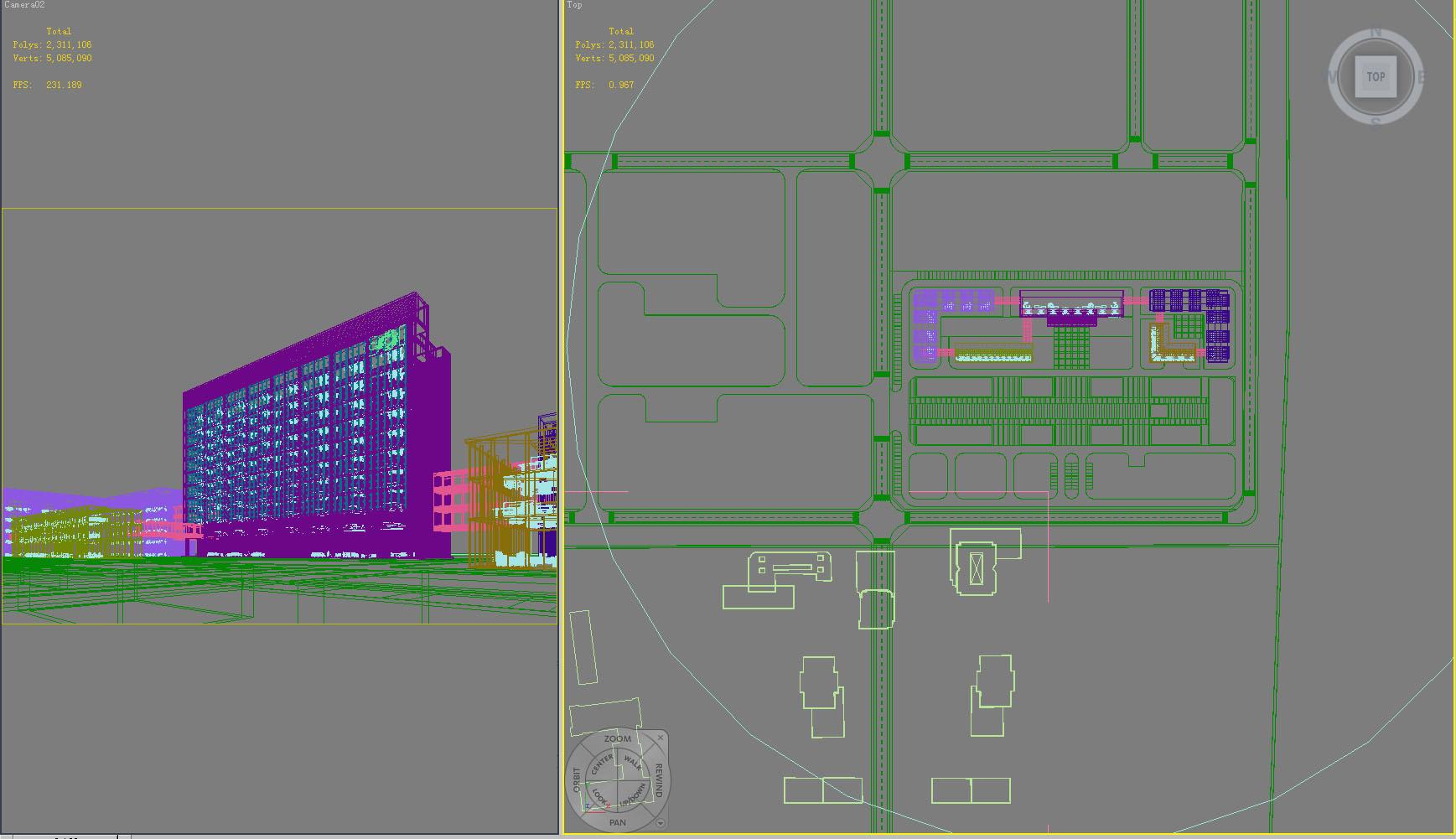 building 791 3d model max psd 126104