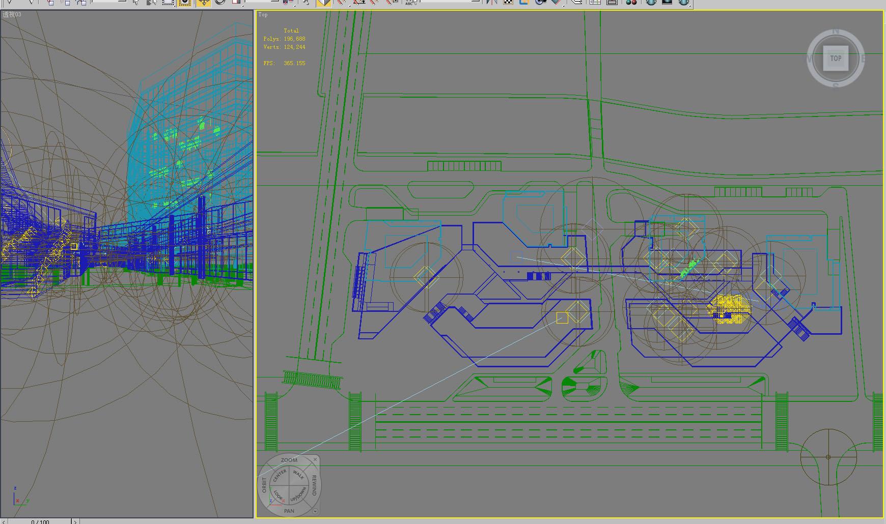 building 795 3d model max psd 126092
