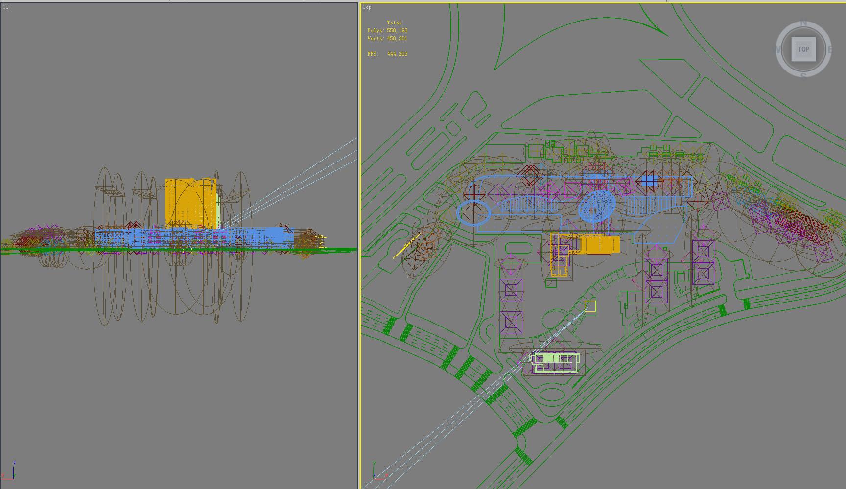 building 797 3d model max psd 126086