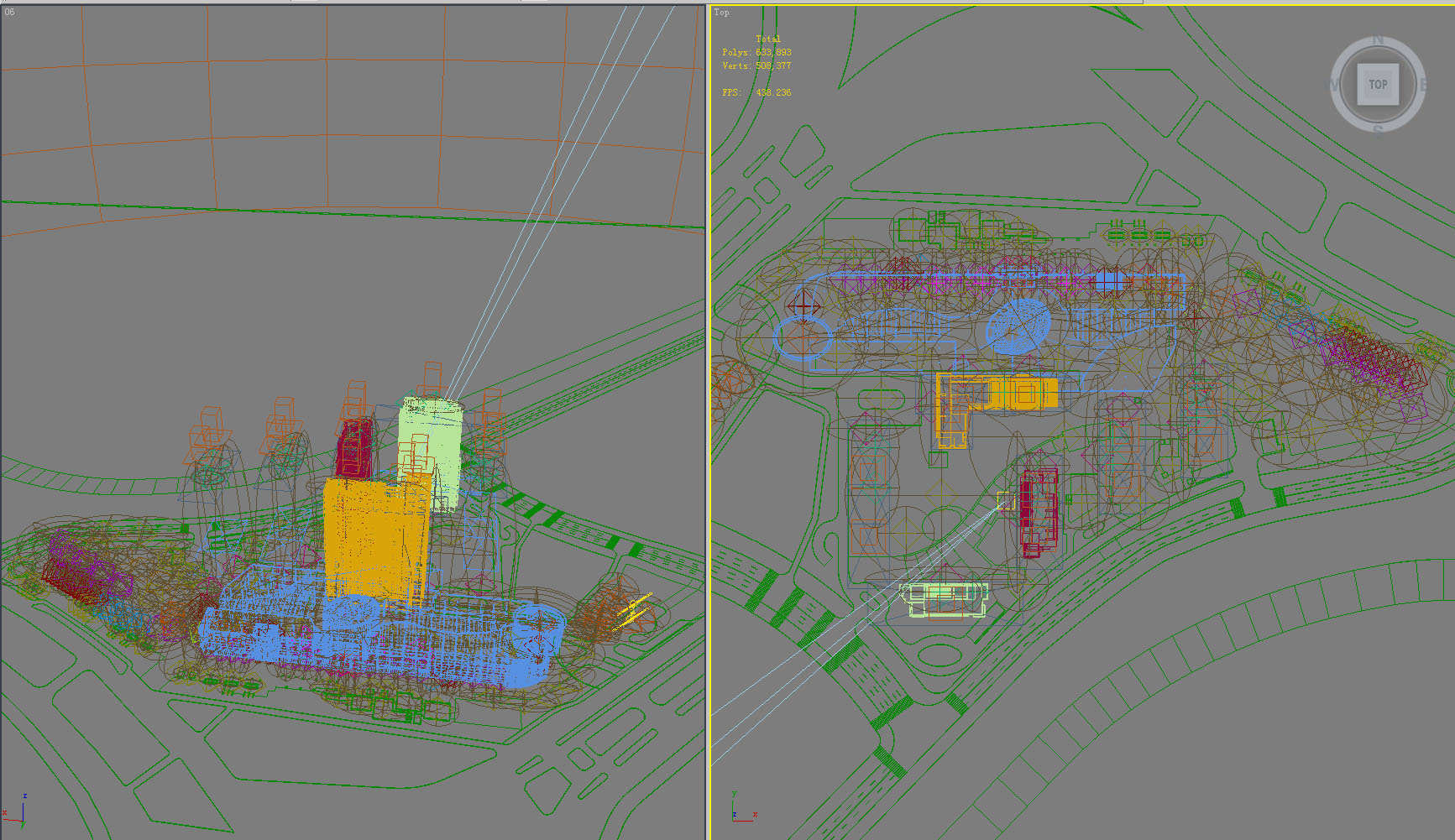 building 798 3d model max psd 126083