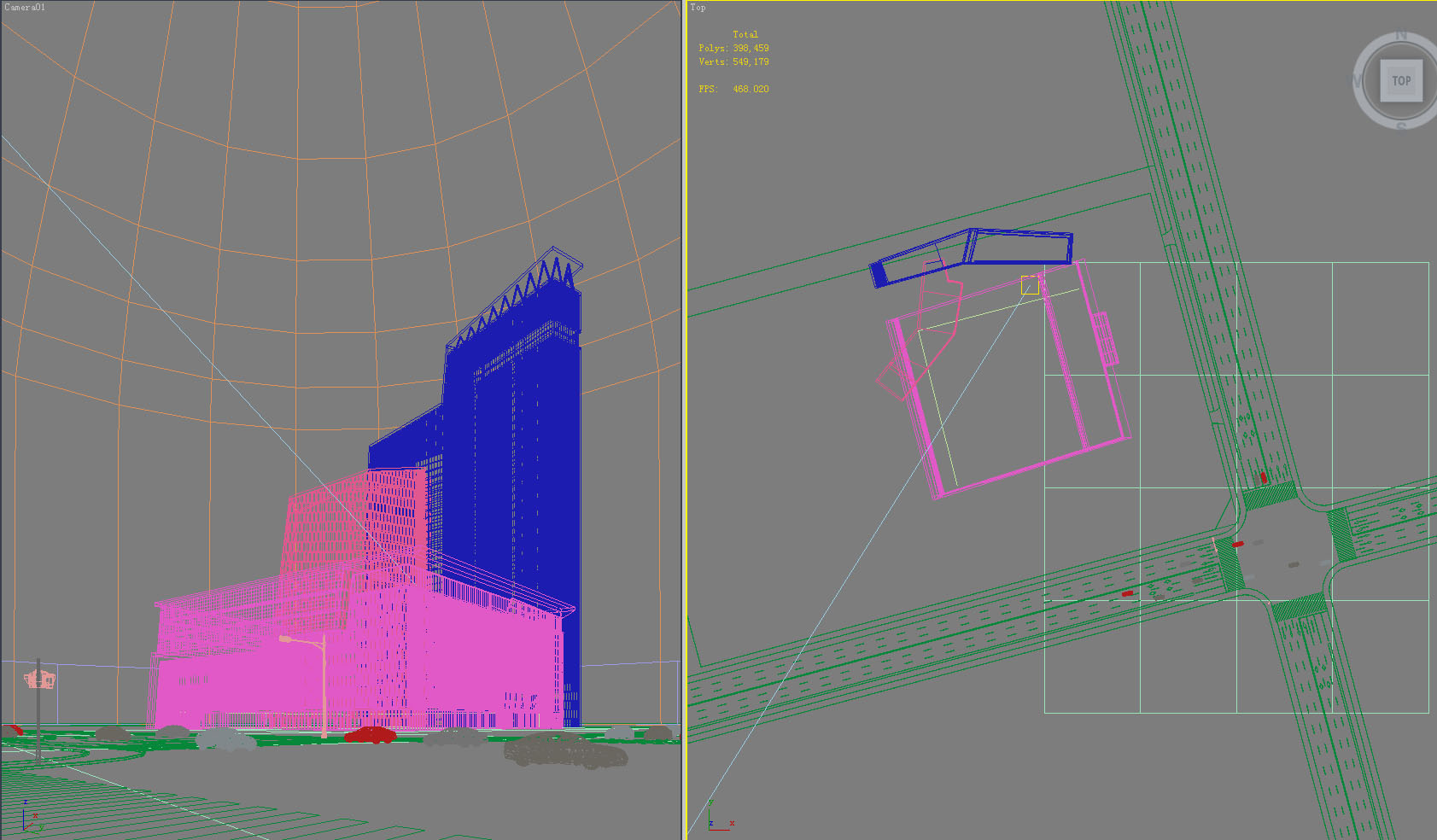 building 807 3d model max psd 126831