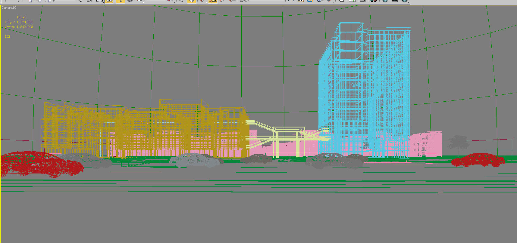 building 815 3d model max psd 126030