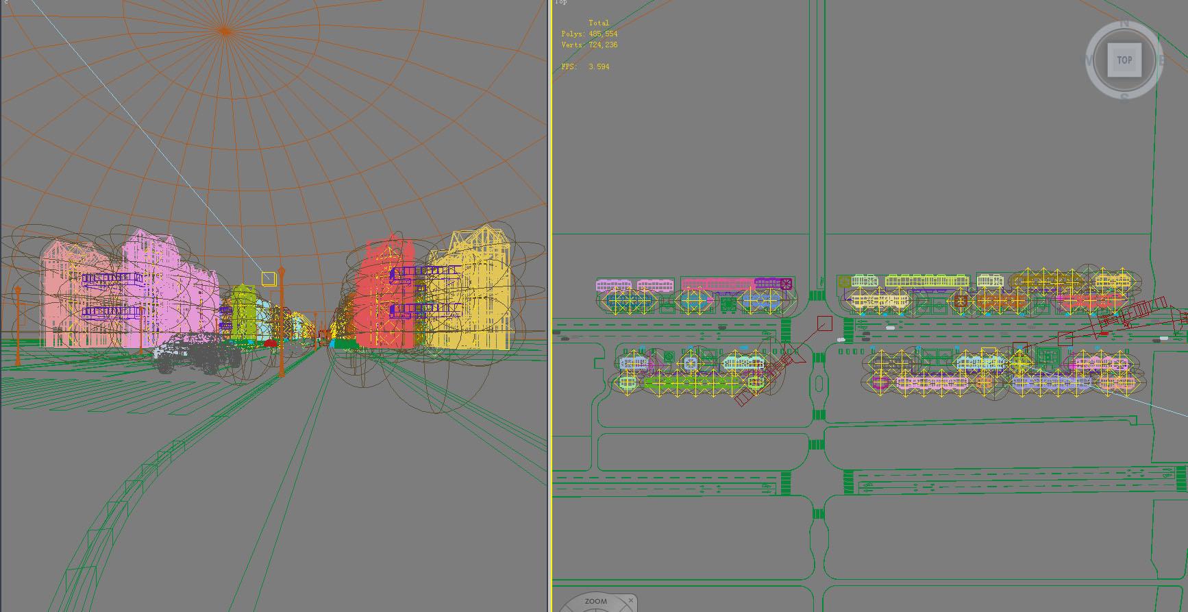 building 826 3d model max psd 126829
