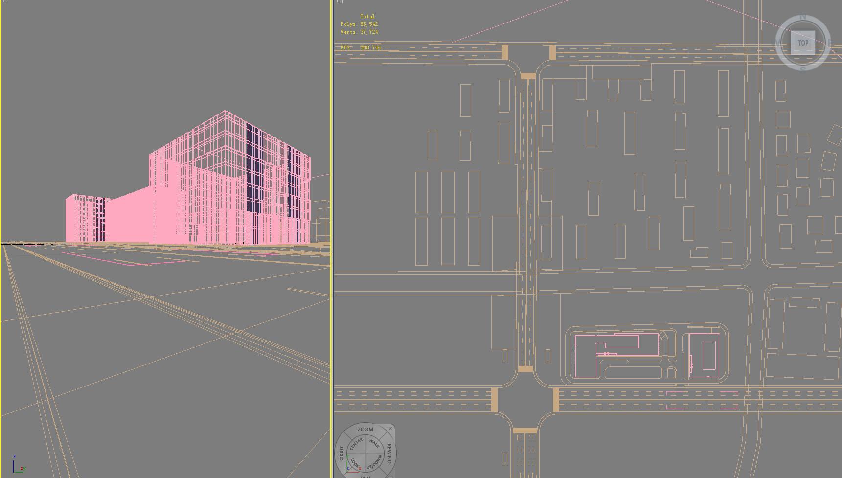building 831 3d model max psd 123236