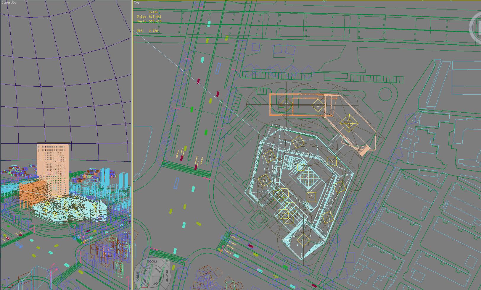 building 836 3d model max psd 123246