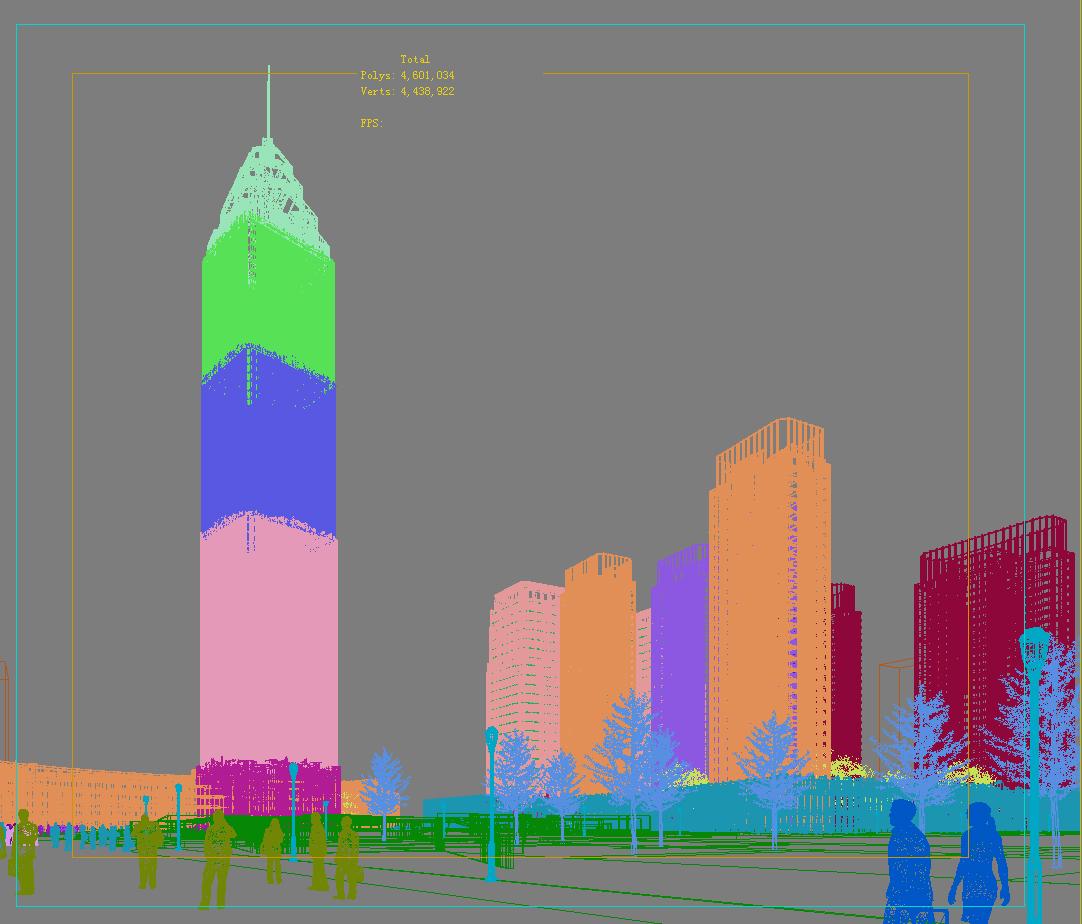 building cityscape 083 3d model max 165146