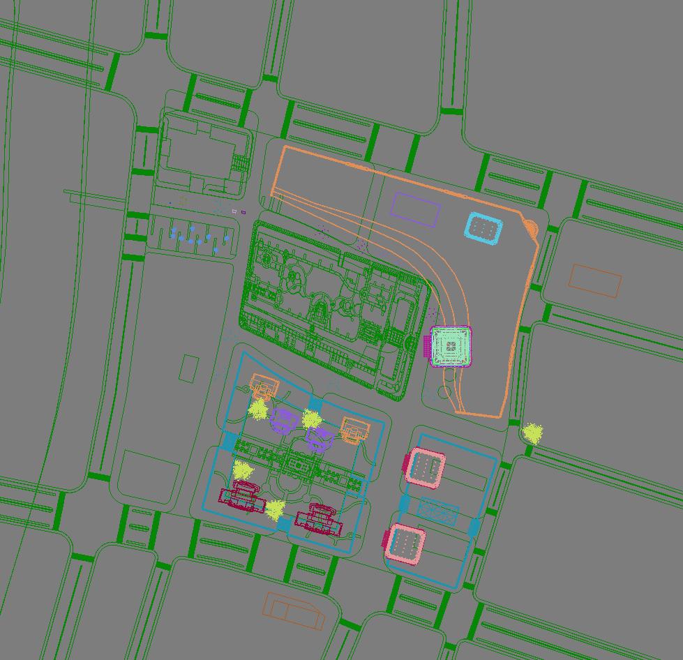 building cityscape 083 3d model max 165147