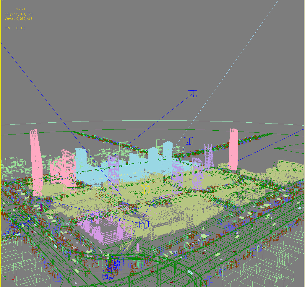 building cityscape 088 3d model max 165162