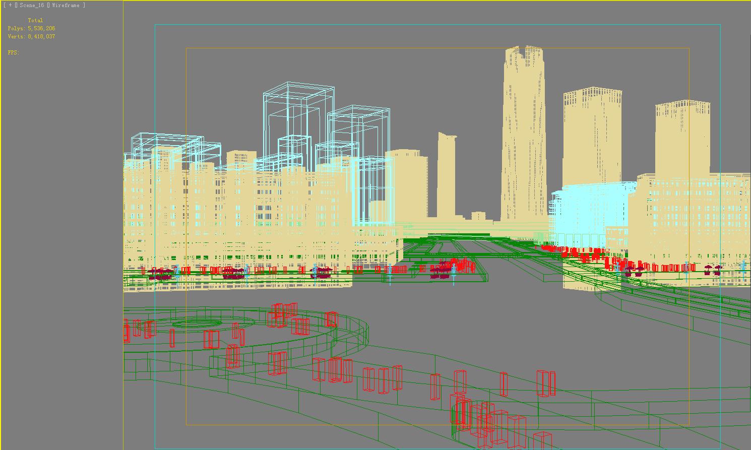 building cityscape 089 3d model max 165133