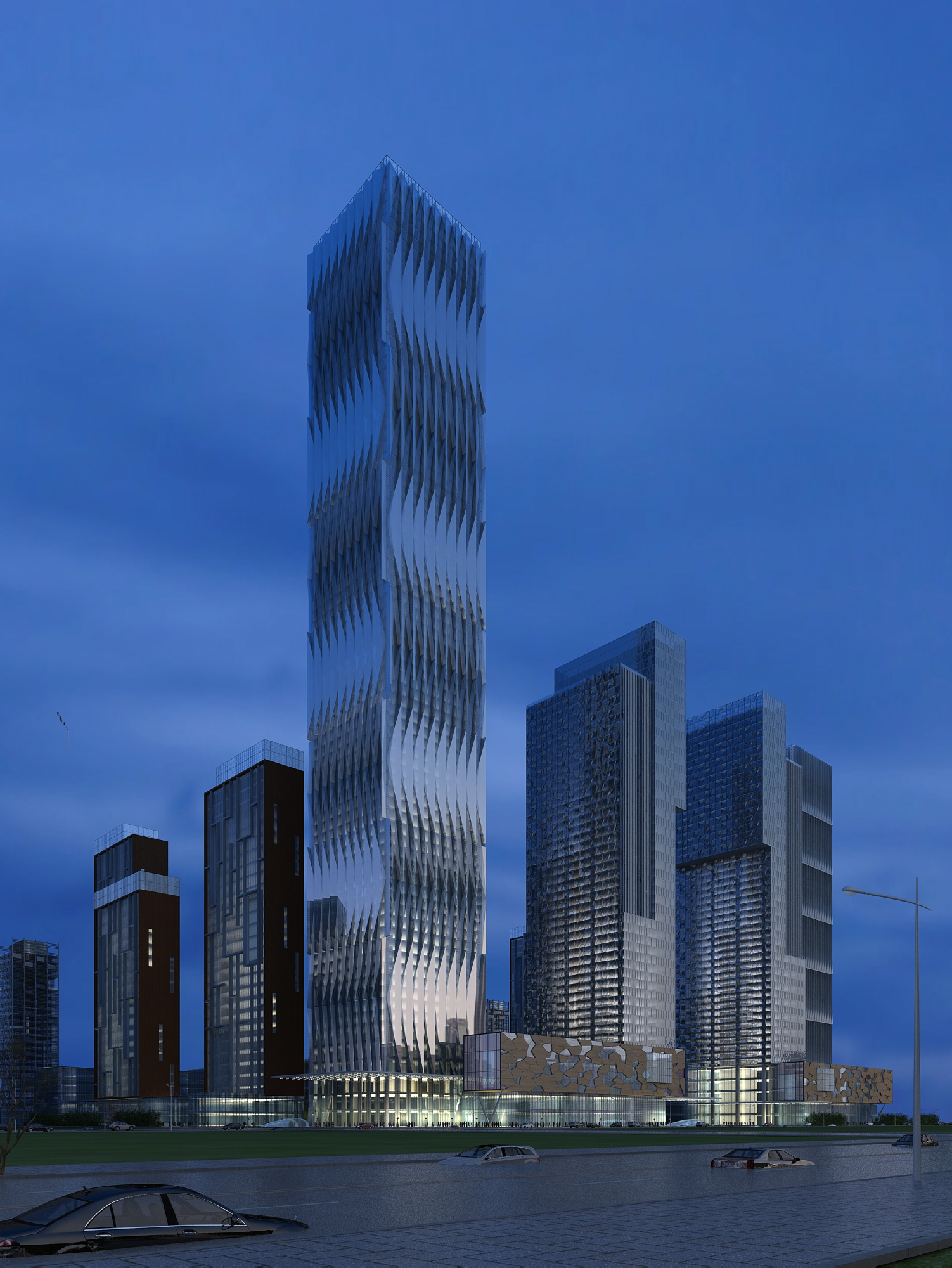 building cityscape 113 3d model max 165230