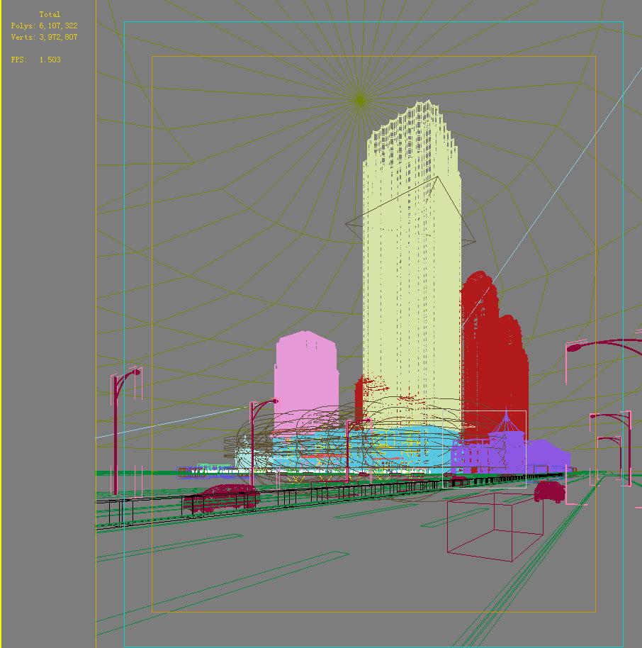 building cityscape 118 two 3d model max 165238