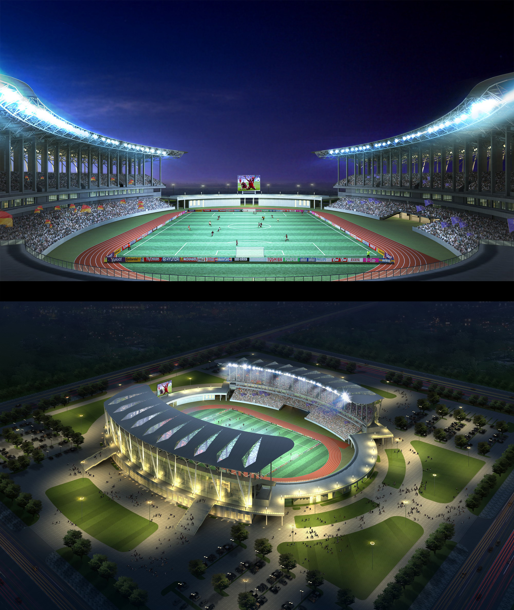 Grand Stadium 002 3d líkan 3ds max psd 98294
