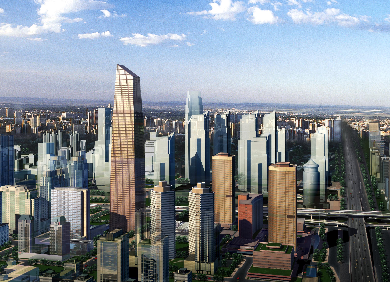 skyscraper building 015 3d model max 123134