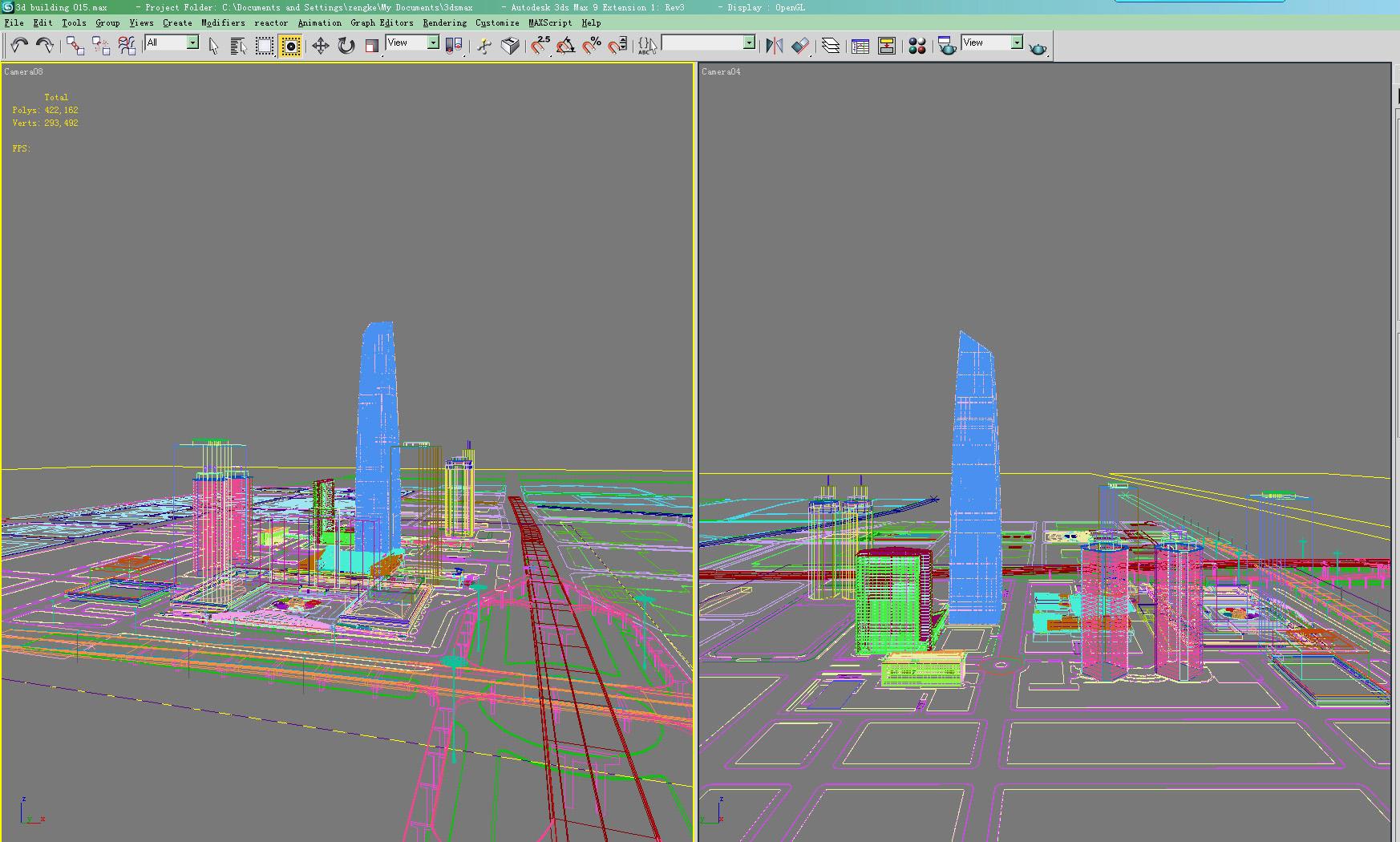 skyscraper building 015 3d model max 123135