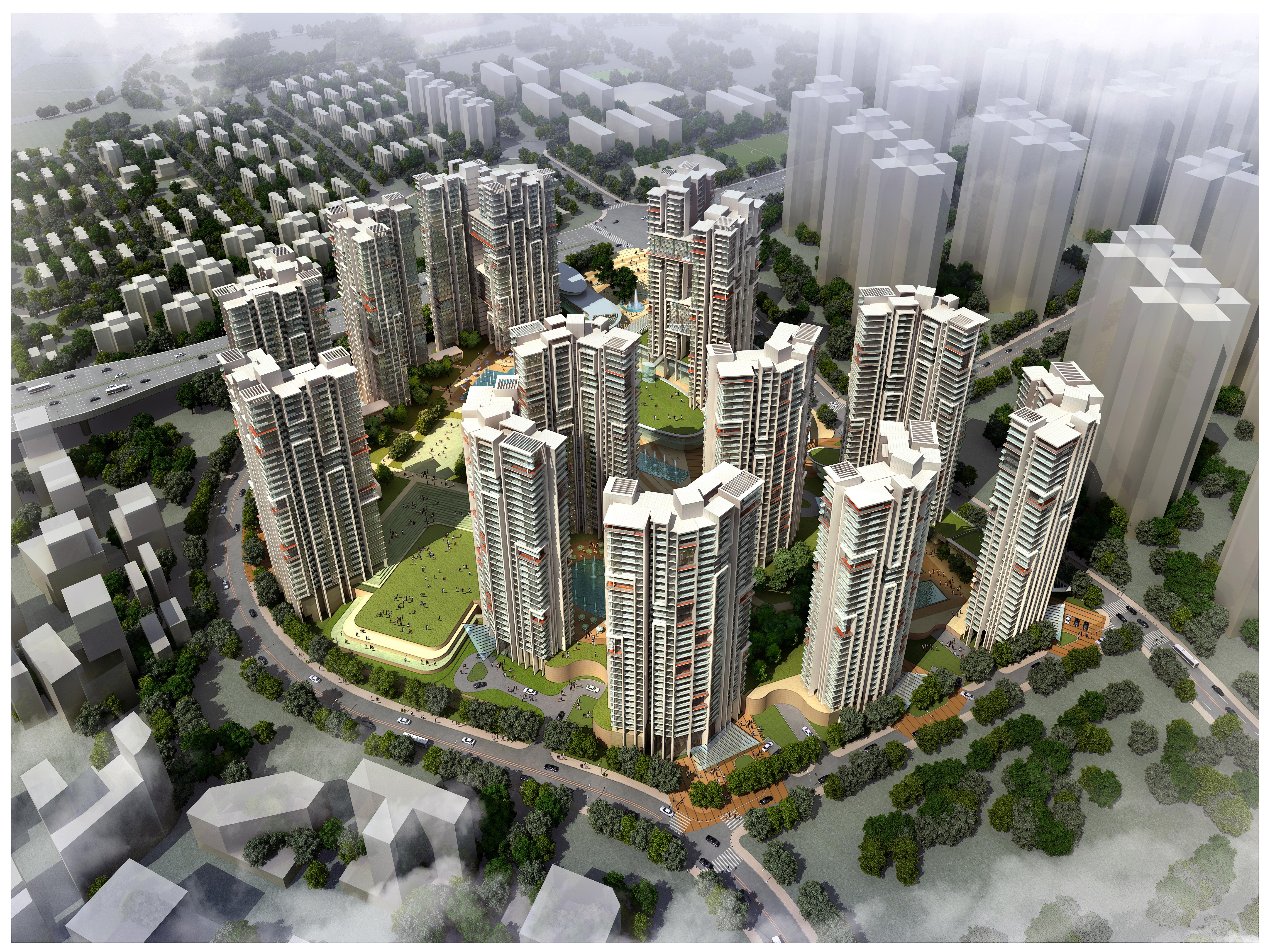 urban cityscape 342 3d model max psd 122668