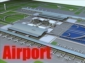 airport 02 3d model max ged gml jpeg jpg 90743