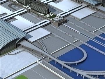 airport 02 3d model max ged gml jpeg jpg 90745