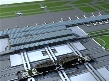 airport 02 3d model max ged gml jpeg jpg 90747