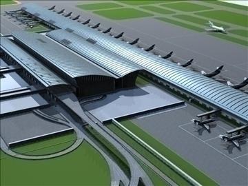 airport 02 3d model max ged gml jpeg jpg 90748