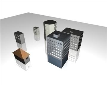pilsētas ēkas 3d modelis max 98240
