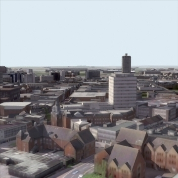 city03_suburban_cityscape 3d model 3ds max texture 106922