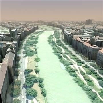 european city set01 3d model max fbx ma mb texture obj 103735