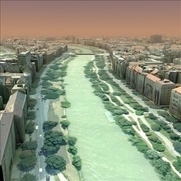 european city set01 3d model max fbx ma mb texture obj 103736