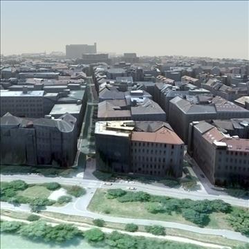 european city set01 3d model max fbx ma mb texture obj 103737