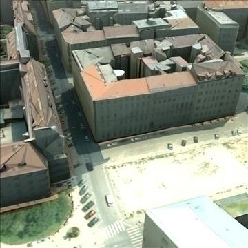 european city set01 3d model max fbx ma mb texture obj 103740