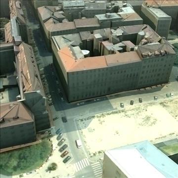 european city set01 3d model max fbx ma mb texture obj 103741