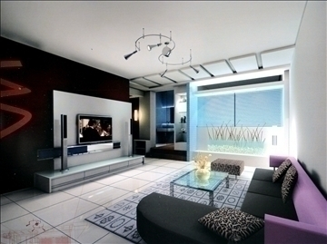 living room 756 3d model 3ds max 95638