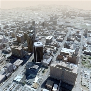 modern city no2 3d model 3ds max lwo ma mb texture obj 105907