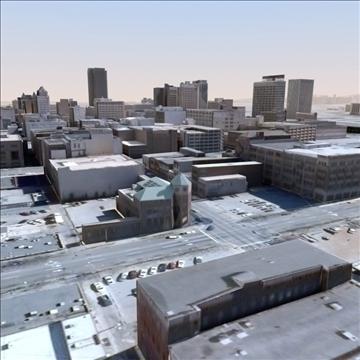 modern city no2 3d model 3ds max lwo ma mb texture obj 105908