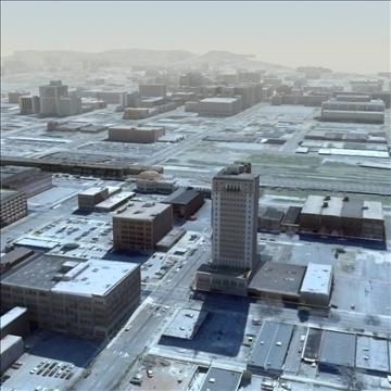 modern city no2 3d model 3ds max lwo ma mb texture obj 105913