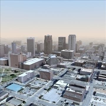 modern city no2 3d model 3ds max lwo ma mb texture obj 105915