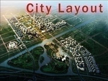 хот суурин газрын дизайн 002 3d загвар max psd 90813